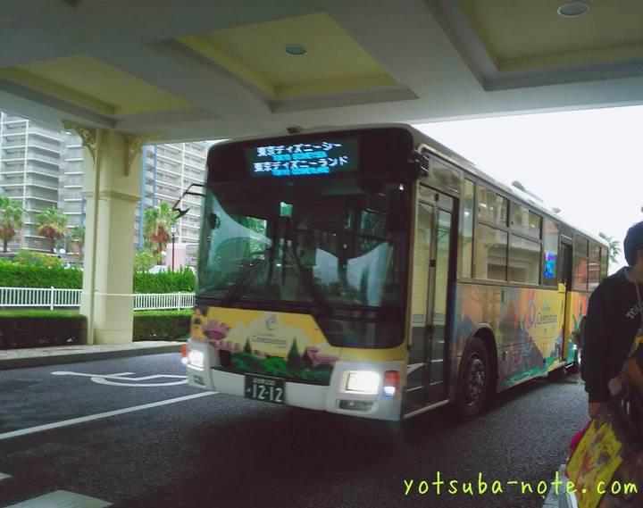 セレブレーションホテルの送迎バス